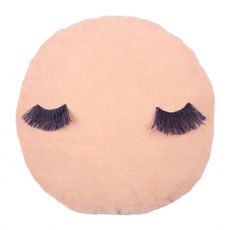 Pink Velvet Wink Cushion from Meri Meri :: Baby Bottega