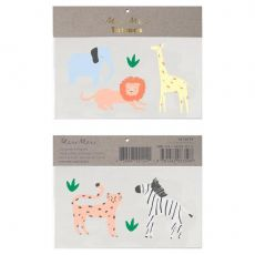 Safari Animal Tattoos from Meri Meri ::  Baby Bottega