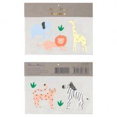 Safari Animal Tattoos from Meri Meri ::  Baby Bottega