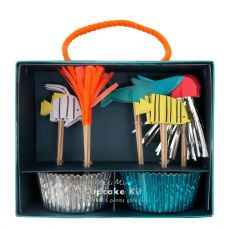 Under the Sea Cupcake Kit from Meri Meri :: Available at Baby Bottega