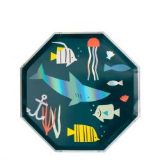 Under the Sea Plates from Meri Meri :: Available at Baby Bottega