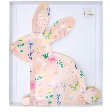 Wildflower Bunny Shaped Plates from Meri Meri :: Baby Bottega