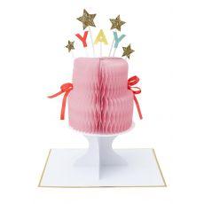 Yay! Cake Stand-Up Card from Meri Meri :: Buy at Baby Bottega