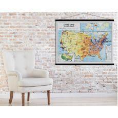 Mappa Stati Uniti :: acquista ora su Baby Bottega