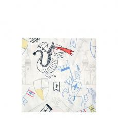 Dragon Knights Large Napkins from Meri Meri :: Baby Bottega