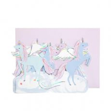 Pegasus concertina card from Meri Meri :: Baby Bottega