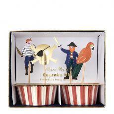 Pirates Bounty cupcake kit from Meri Meri :: Baby Bottega