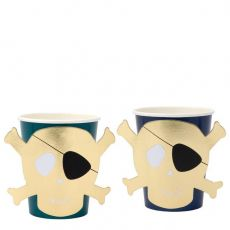 Pirates Bounty Bicchieri di Meri Meri :: acquista ora su Baby Bottega