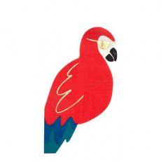 Pirate Parrot paper napkins from Meri Meri :: Baby Bottega