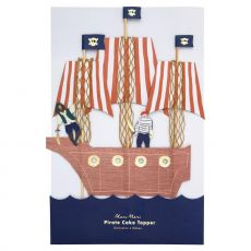 Pirates Bounty cake topper from Meri Meri :: Baby Bottega