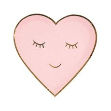 Blushing Heart Plate, small