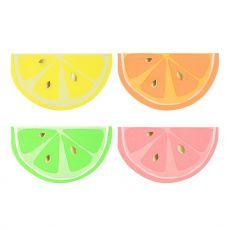 Neon Citrus Paper Napkins from the Meri Meri Collection