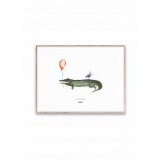 Coco il Coccodrillo poster di Mado :: acquista su Baby Bottega