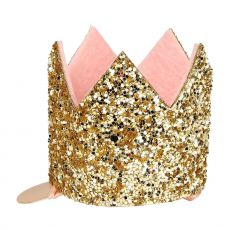 Mini Glittered Crown from the Meri Meri Collection