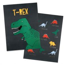 Stampe artistiche di dinosauri  da Meri Meri