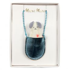 Dog Pocket Necklace from Meri Meri