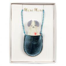 Collana Cane nella Tasca di Meri Meri :: acquista su Baby Bottega