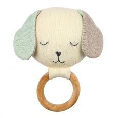 Dog Baby Rattle from Meri Meri :: Available online at Baby Bottega