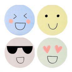 Emoji, Piatti di carta :: Meri Meri