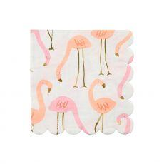 Tovaglioli Flamingo di Meri Meri :: acquista su Baby Bottega