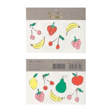 Foil Neon Fruit Tattoos :: Meri Meri