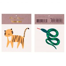 Jungle Tattoos, party favors from Meri Meri