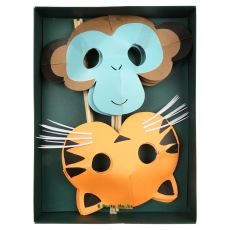 Go Wild Party Masks, party favors from Meri Meri