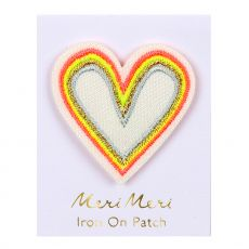Alphabet Heart, iron on patch from Meri Meri
