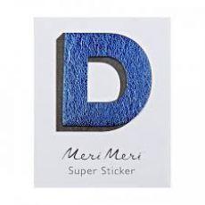 "Adesivo in pelle, la lettera ""D"" da  Meri Meri"
