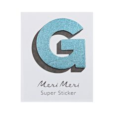 "Leather Sticker, the letter ""G"" from Meri Meri"