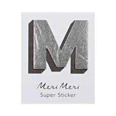 "Leather Sticker, the letter ""M"" from Meri Meri"