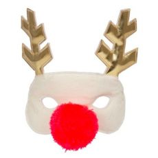 Reindeer Fabric Mask from Meri Meri