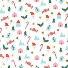 Festive Icons Holiday carta da regalo da Meri Meri