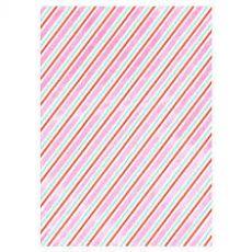 Iridescent Stripe, carta da regalo da Meri Meri