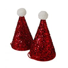 Mini Santa Hats from Meri Meri