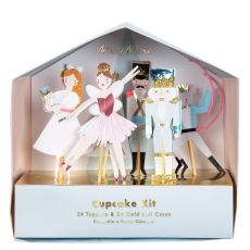 Nutcracker Holiday Cupcake Kit da Meri Meri