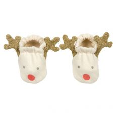 Reindeer Baby Booties from Meri Meri