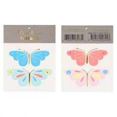 Neon Butterfly Tattoo from Meri Meri