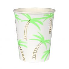 Palm Trees, Paper Party Cup from Meri Meri