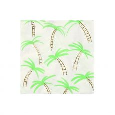 Palm Tree, Paper Napkins from Meri Meri