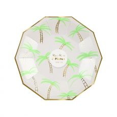 Palm Tree, Small Party Plate from Meri Meri
