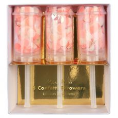 Petardi con confetti rosa da Meri Meri