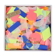 Rainbow Party Confetti Shapes from Meri Meri