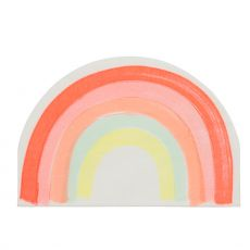 Rainbow Large Napkins from Meri Meri