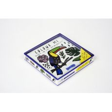 Color Me: Who's in the Pond?, a bathtime coloring book from Wee Gallery :: Design Bottega