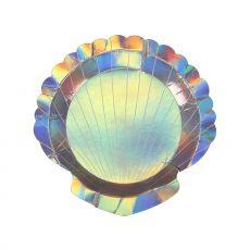 Seashell :: Paper Plates from Meri Meri :: Baby Bottega