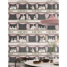 Teatro (pink), decorative wall mural :: Cole & Son