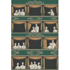 Teatro (green), decorative wall mural :: Cole & Son