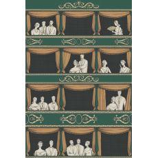 Teatro, murale decorativo (verde) :: Cole & Son