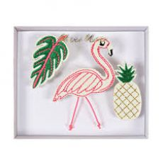 Tropical Brooches from Meri Meri